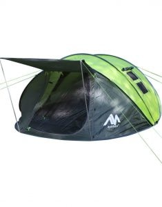 6 person pop up tent for camping